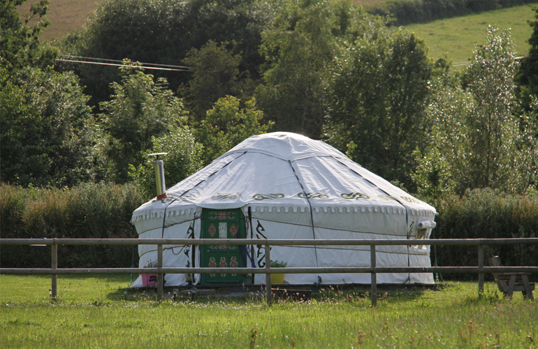 hemsford yurt camp 3