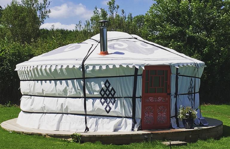 hemsford yurt camp 5