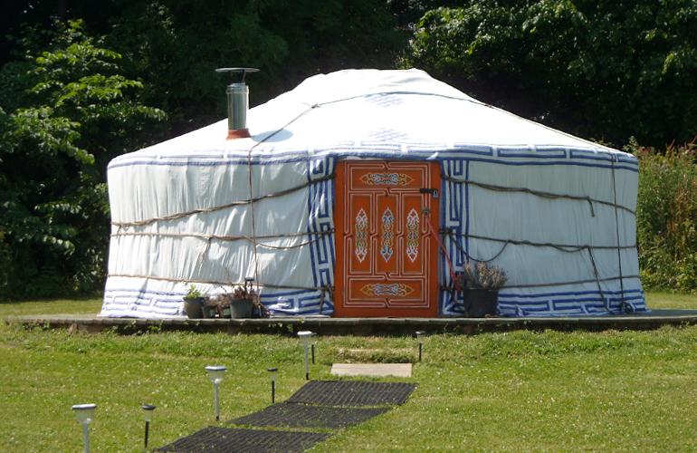 hemsford yurt camp