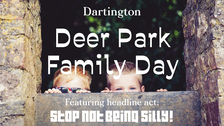 Deer Park family day graphic