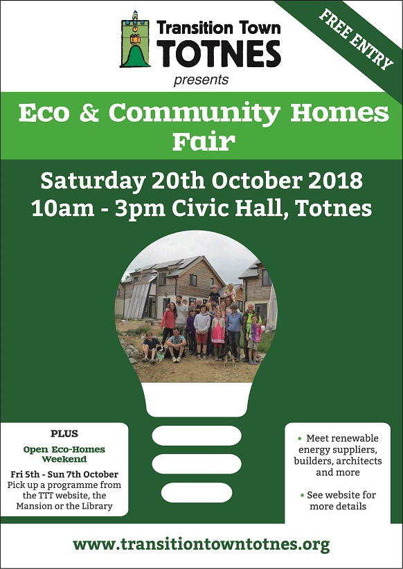 Eco Homes Fair Poster 2017