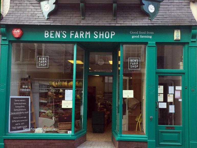 bens farm shop totnes front 800x600