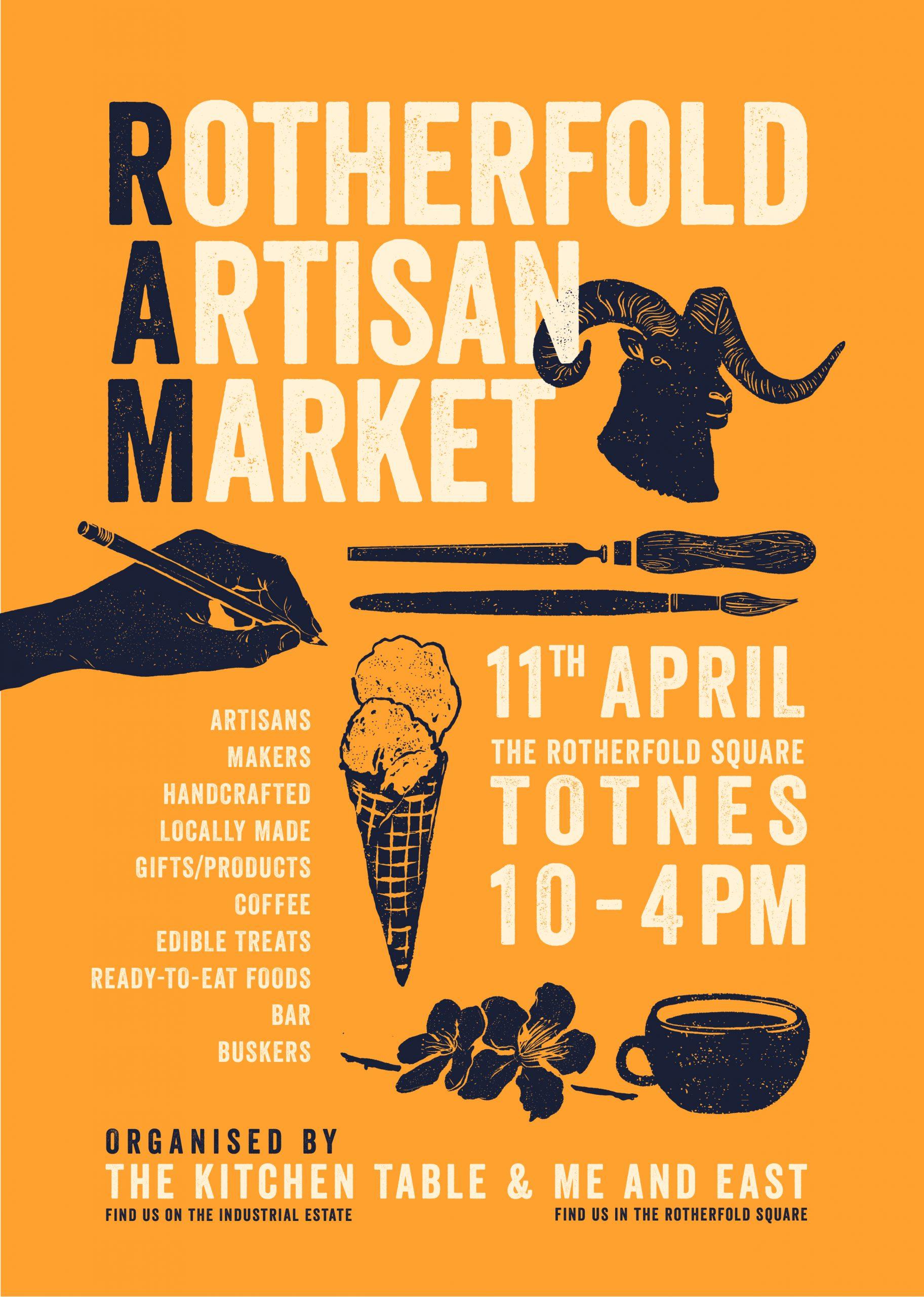 Rotherfold Artisan Market Poster