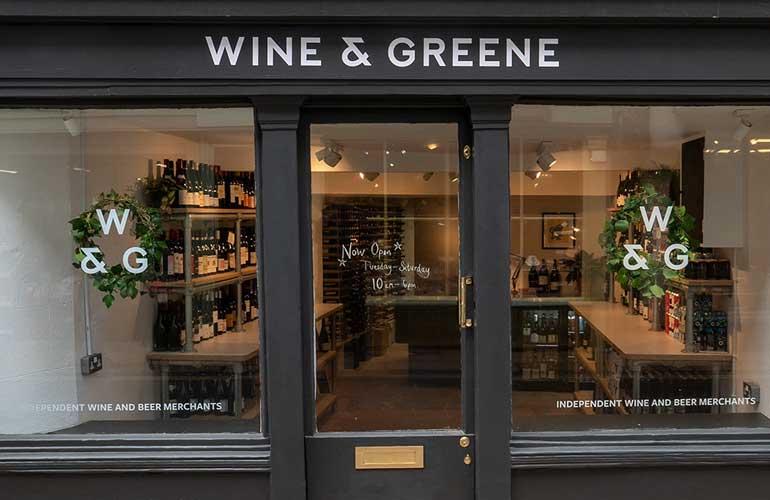 wine and greene