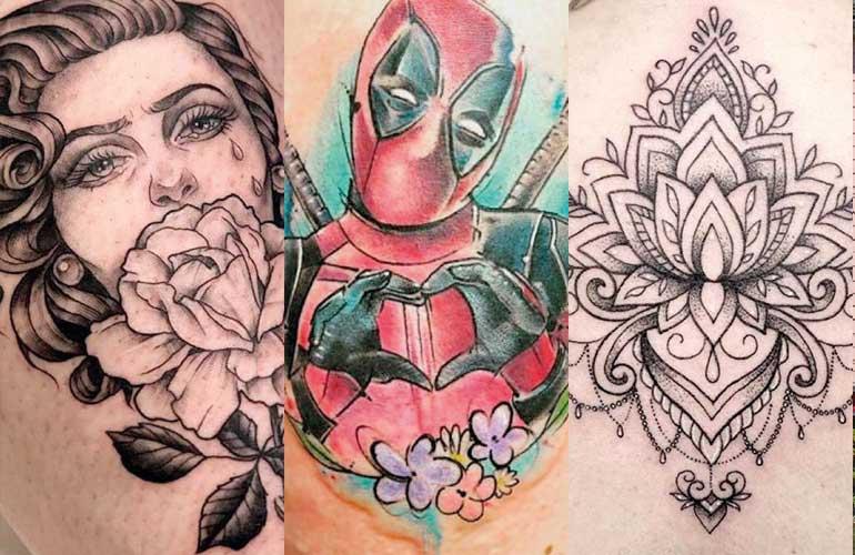 divine in tattoo