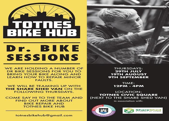 Totnes bike hub