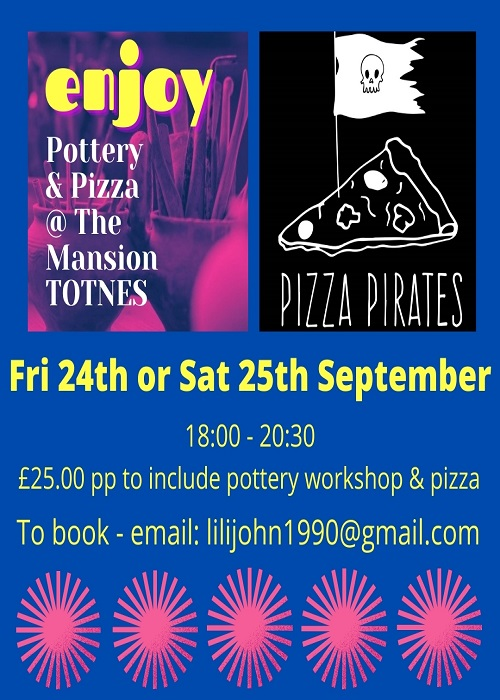 Pizza Pottery Aug Insta @ The Mansion 1