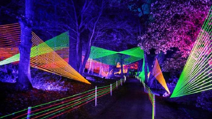 Killerton mas lights 2021